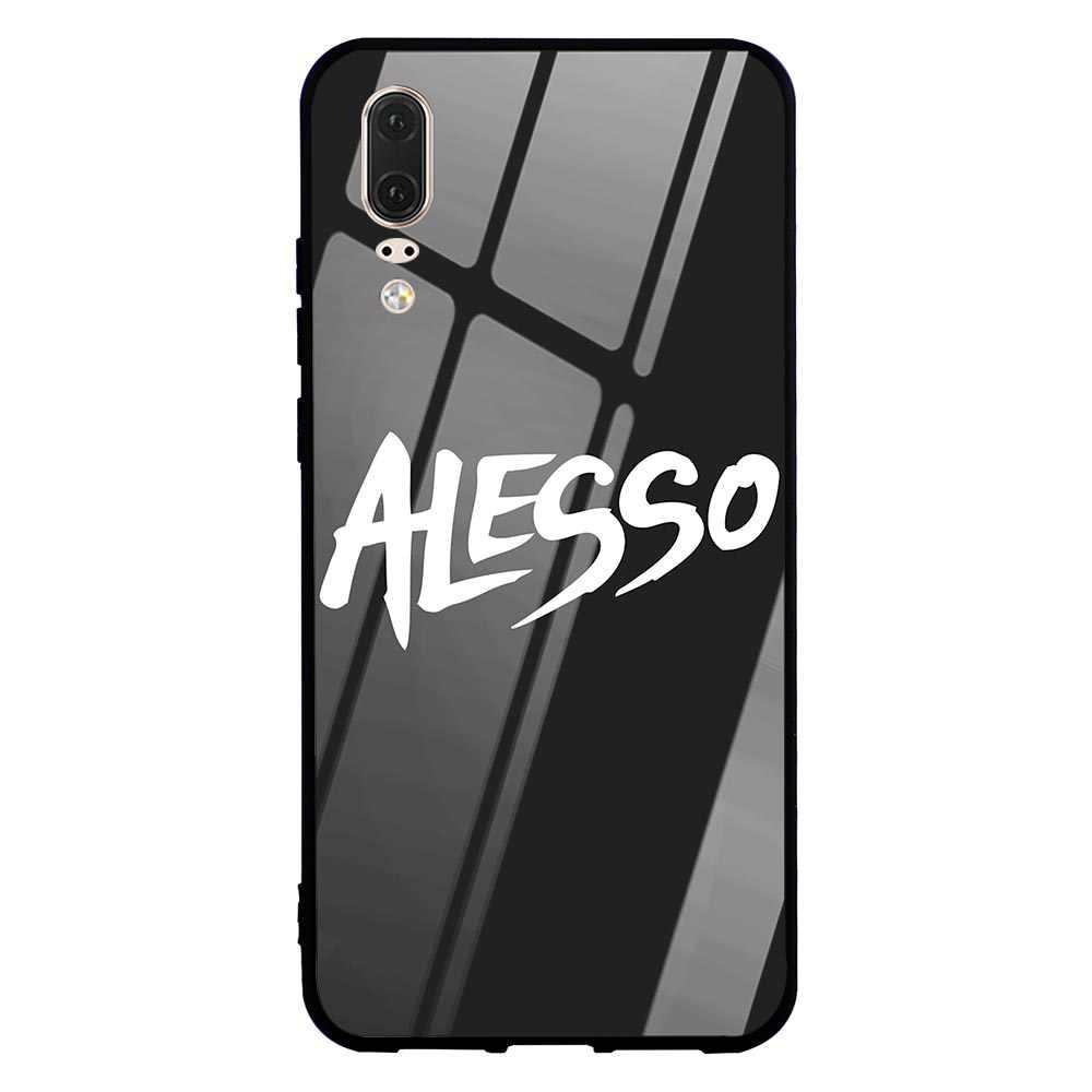 Impresión de Alessandro Lindblad de vidrio de la cubierta del teléfono para Huawei Honor 10 9 7A Pro Y6 Y9 P10 Lite P20 P funda inteligente Mate 20