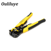 Multifunctional Cable Wire Stripper Cutter Crimper Automatic Crimping Wire Stripping Cutting Plier Tools Multi Tool Hand Tools portable 6p 8p network ethernet internet cable crimper plier tools crimping repair tools wire cutter cutting pliers hand tool