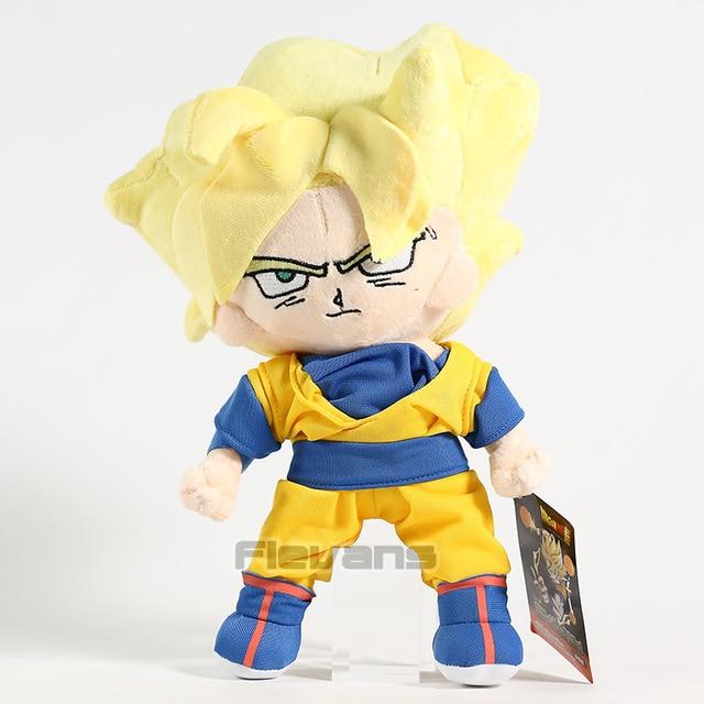 Dragon Ball Z Kakarotto Son Goku Super Saiyan Plush Macio Stuffed Toy Boneca 30 cm