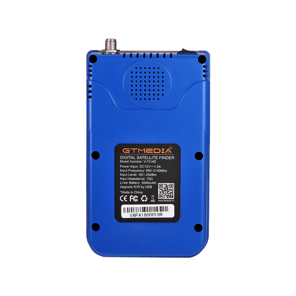 "Image 5 - GTmedia V8 Finder Meter Digital Satellite Finder HD DVB S2/S2X ACM High Definition 3.5"" LCD With 3000mAh Battery LNB Sat finder-in Satellite TV Receiver from Consumer Electronics"