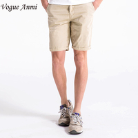 12 Colors New Arrival Shorts Men Fashion Brand 100 Cotton Casual Shorts Quality Knee Length Beach