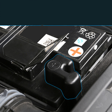Lsrtw2017 Abs Car Engine Battery Cover Protective Cover for Kodiaq Gt car engine battery dustproof cover negative electrode waterproof protective shell w ac cover for skoda kodiaq 2016 2018 for vw