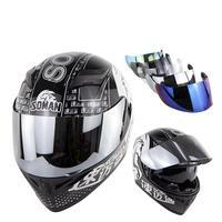 Motorcycle Helmet Men Full Face Helmet Moto Riding ABS Material Motocross Helmet Motor Motorbike Accessories Casque casco moto
