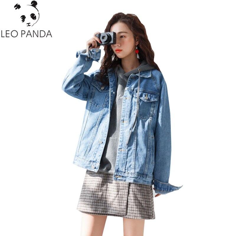 Giacca Bf A Inverno Manica Donna Femminili Jeans amp; Grandi Allentato Nuovo Cappotto 2017 Dimensioni Blue Harajuku Hf21 Autunno Stile Lunga Di Donne nqz7CwEOwx