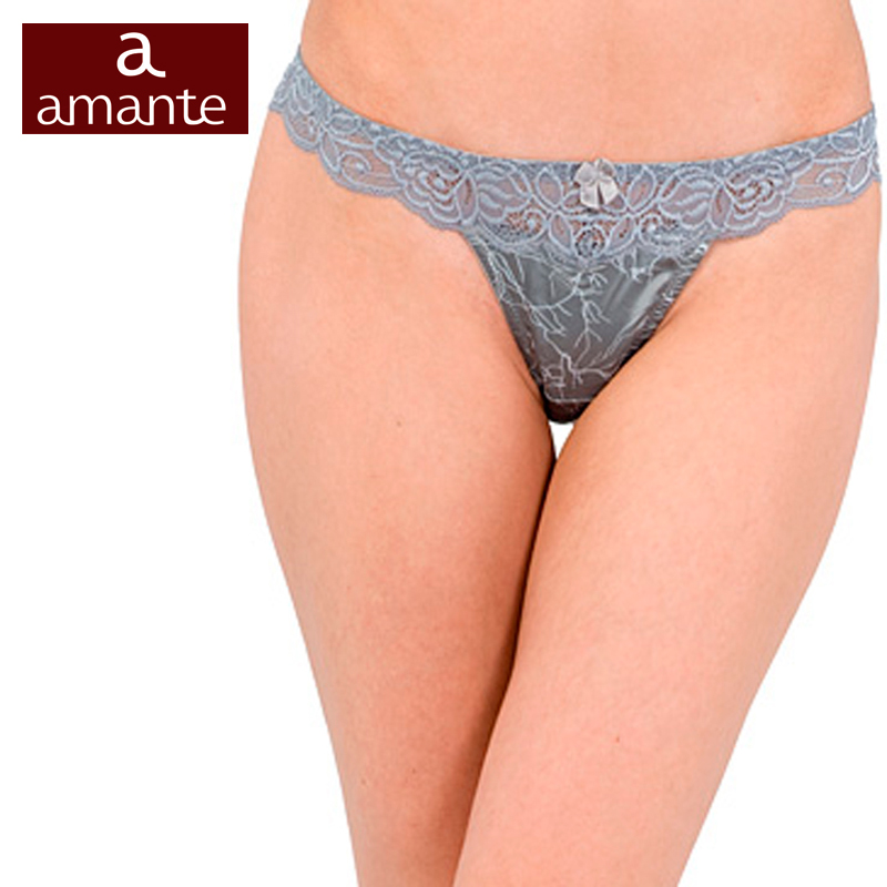 1dae130a19f7 Female Thong women's G-String Briefs Lace White S M L Ardi Free Delivery  Amante N2000-20