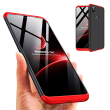Phone Case All-inclusive Protection 3 in 1 Matte Cover Hard Shell Anti-Shock Ful