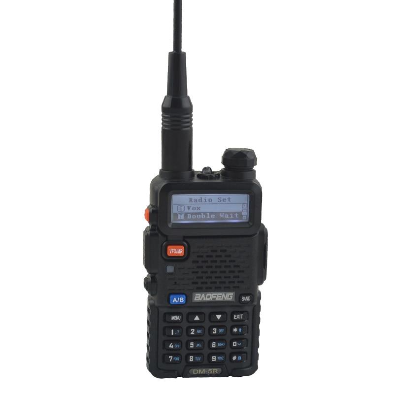 2pcs DM 5R baofeng 2nd Generation DMR Digital Radio VHF/UHF Dual Band DMR Tier I&II FM Walkie Talkie +1pcs USB programming cable - 4