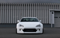 FRP Fiber Glass GRD X Rocket Bunny Ver.2 Style Front Bumper with Lip Led Rod Fit For GT86 FT86 ZN6 FRS BRZ ZC6 Front Bumper Kit