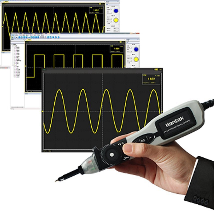 Hantek PSO2020 USB Pen Storage Digital Oscilloscope Single Channel 20MHz Bandwidth 96MSa s DVM Voltmeter Fit