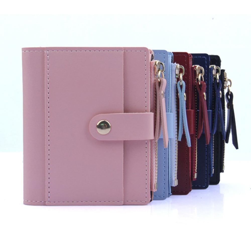 2019 Fashion Women Wallet Small Cute Wallet Women Short Leather Women Wallets Zipper Purses  Female Purse Clutch C508