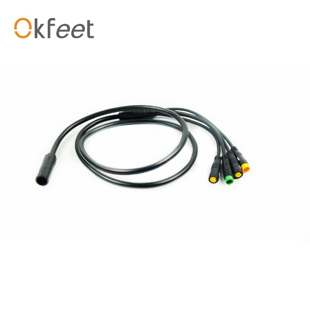 Okfeet Bafang middle motor mid drive 1to4 main cable EB-BUS cable BBS01  BSS02B BBSHD