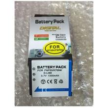NP-50 NP50 FNP50 KLIC-7004 D-Li68 baterias de lítio NP bateria para câmera Digital 50 Para Fujifilm X10 X20 XF1 F50 F75 F665 F775 F900