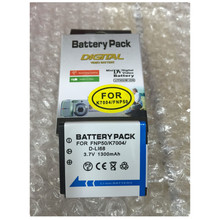 NP-50 FNP50 NP50 KLIC-7004 baterías de litio D-Li68 cámara digital batería NP 50 para Fujifilm X10 X20 XF1 F50 F75 F665 f775 F900