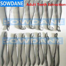Germany High Quality Stainless Steel Dental Adult Tooth Extraction Plier Forcep Dental Orthodontic Surgical Tool Instrument medical orthopedics instrument stainless steel t type extraction bolt q