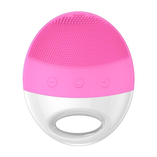 Mini Ultrasonic Facial Silicone Cleansing Brush