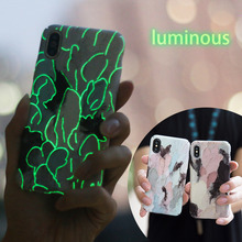 KISSCASE Chic Case For iPhone XS Max XR X 8 7 6S 6 3D Cases Luminous Phone Cover Plus 10 Fundas Accessories