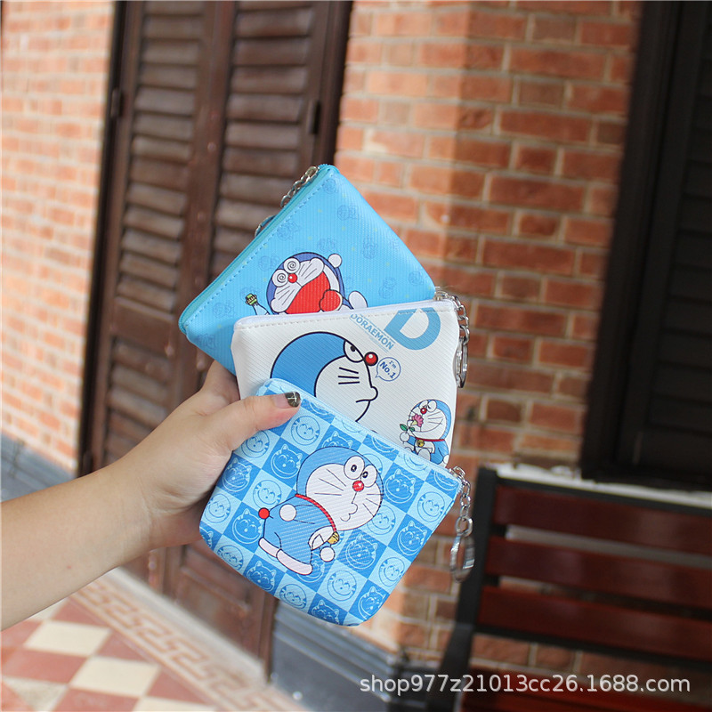 Shop For Cheap Ivyye 1pcs Doraemon Mickey Anime Plush Card Holder Pu Cartoon Credit Id Bags Zipper Coin Bus Card Wallet Kid Girls Gifts New Card & Id Holders