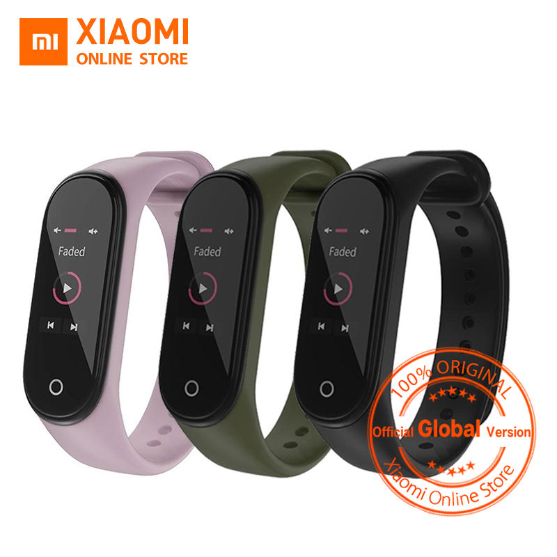 Global Version Xiaomi Mi Band 4 Smart Band Fitness Tracker bracelet Heart Rate Tracker Colorful Display Instant Message 135mAh xiaomi mi 8 aliexpress