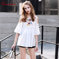 Quintina New Fashion Embroidery Women Shirt Spring Elegant Plus Size Lady Shirts Blusas Femininas Summer Casual Women Tops