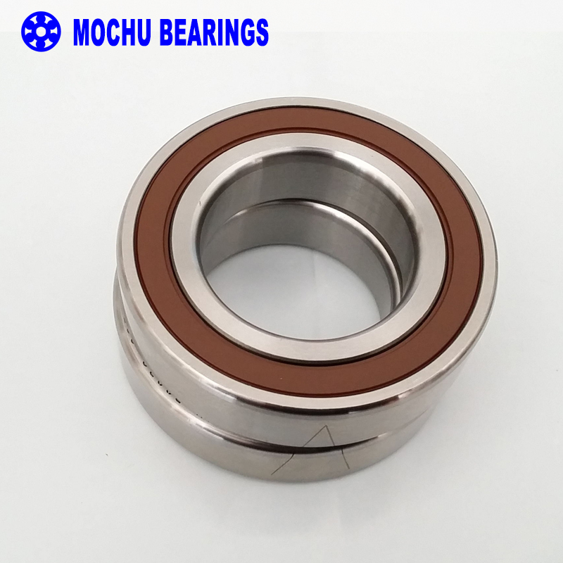 1pair 7006 H7006C 2RZ HQ1 P4 DB L 30x55x13 SI3N4 Ceramic Ball Sealed Angular Contact Bearings