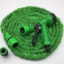 Зеленый 25FT-100FT Садовый Шланг Расширяемый Волшебный Гибкий Водяной Шланг ЕС Шланг Пластиковые