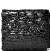 2018 cestbeau crocodile wallet for short male and female crocodile leather wallet for Thai men's mail