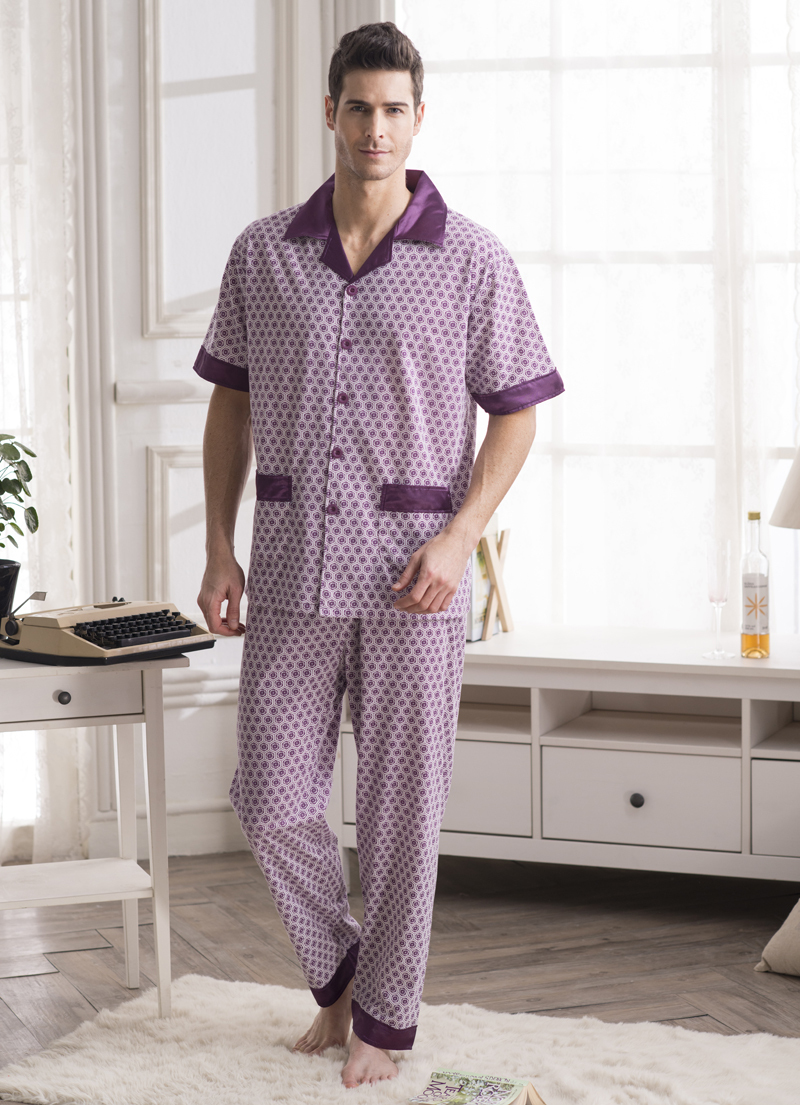 Free shipping New Arrivals Men Pajamas Men\'s Nightgowns for Spring ...