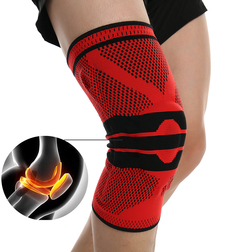 1PCS Breathable Knee Support Professional Gym Protective Gear Sports Knee Pads Bandage Knee Brace basketball tennis cycling pad