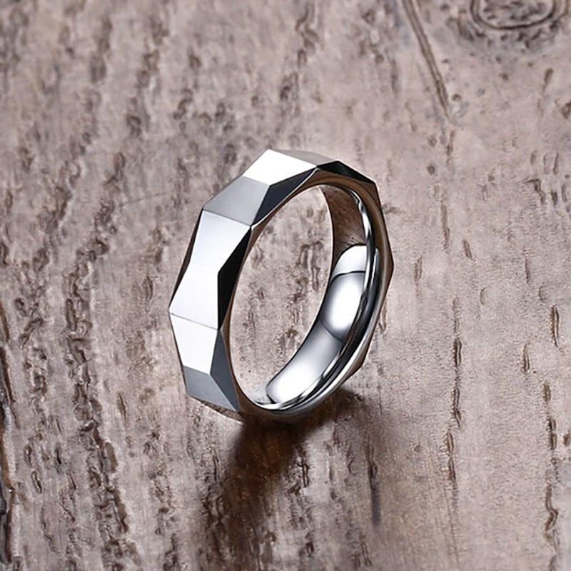 Recomendar qualidade superior simples de aço inoxidável cor prata dos homens anéis de jóias homem anel por atacado legal menino anel tamanho 7 8 9