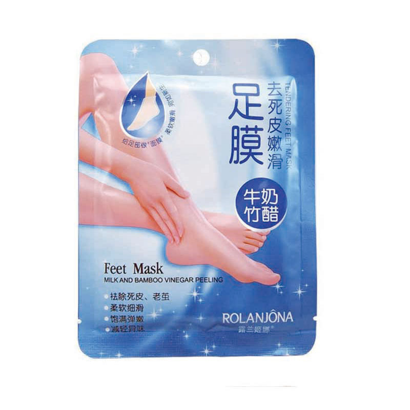 1pair/bag  Super Exfoliating Foot Mask Socks For Pedicure Socks Peeling Feet Mask Care  Beauty