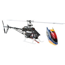 2016 Hot New XFX 450 DFC 2.4G 9CH 3D Flybarless RC Helicóptero BNF