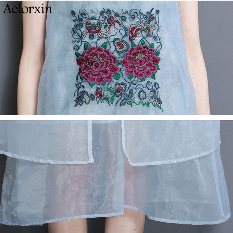 Aelorxin 2019 Φόρεμα Γυναίκες Καλοκαίρι Δύο - Γυναικείος ρουχισμός - Φωτογραφία 5