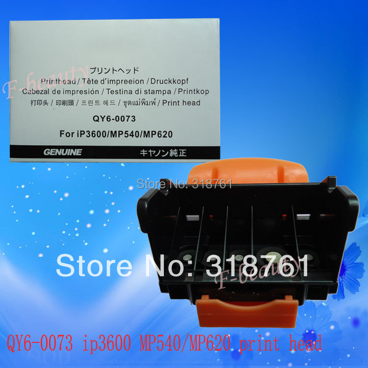 Original QY6-0073 Print Head For Canon iP3600 iP3680 MP540 MP560 MP568 MP620 MX860 MX868 MX870 MX878 MG5140 MG5180 Printhead