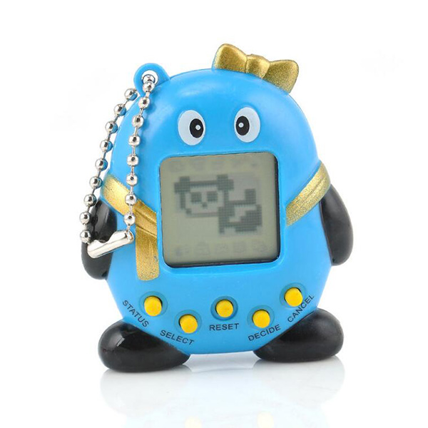 1 Pcs Cute  Funny  Penguins Virtual Digital Pet Electronic Game Machine