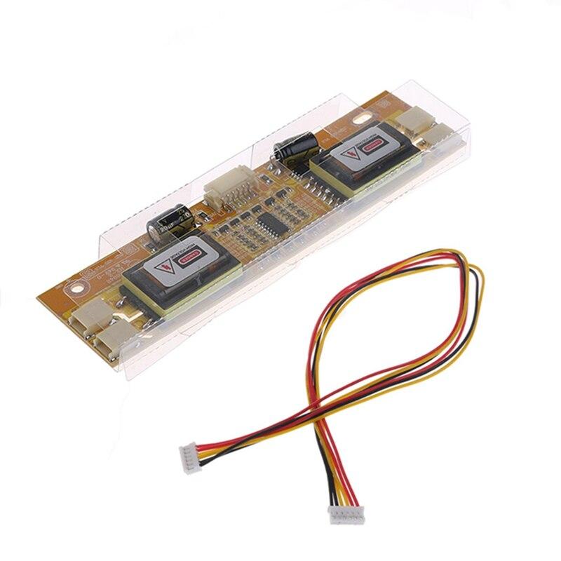 Hot Sale  4 Lamp Single Port High Pressure Inverter Board LCD Screen Panel Monitor CCFL  New 2017 cxa 0245 pcu p023 tdk lcd inverter high voltage switchboard board