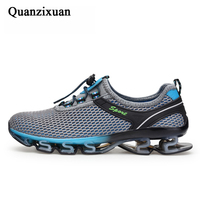 Super Cool breathable shoes Men sneakers summer outdoor shoes Men Casual Men Shoes plus size 39 48