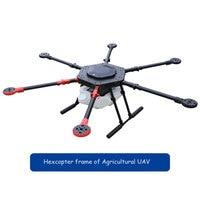 rc airplane Agricultural uav drone hexcopter KIT frame parts foldable carbon fiber frame 10KG with Spray pump