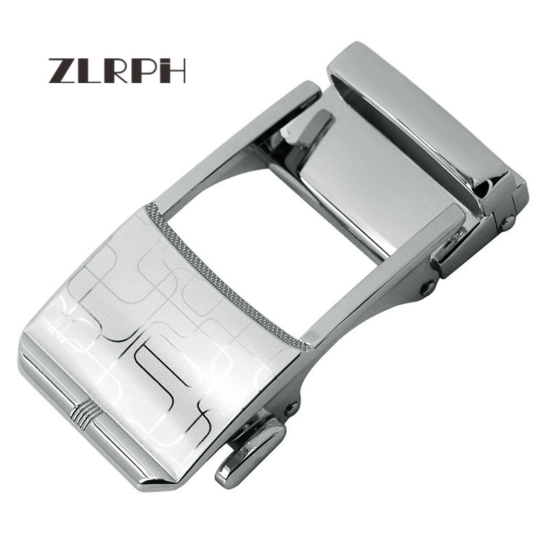 ZLRPH Trendy Design Belt Buckle Head High-grade Polished Electroplating Alloy Automatic Buckle Belt Buckle Wholesale