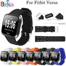 For Fitbit Versa Sport Strap Replacement Silicone Rubber TPE Band Wristband Bracelet Belt Smart Watchband