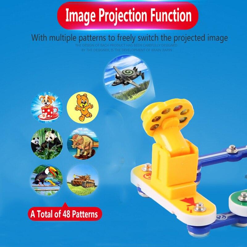 Jouets pour enfants Circuit intégré blocs électroniques Science éducation jouet physique créative expérience technologie apprentissage - 2