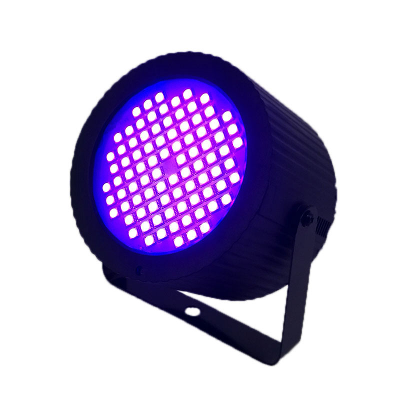 LED 88x1W RGB Strobe estroboscópio Luz Seguir O Som de Voz Controle do Ritmo Da Música luz de palco efeito do Flash luz Luces DJ