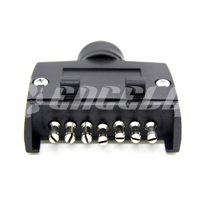 Encell Australia 7 Pin Flat Trailer Plug Car Styling Motor ...