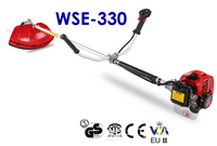 Factory Direct Supply! WSE 330 2 Stroke 32.6CC Brush Cutter/Grass Trimmer with CE and Low Price