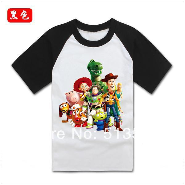 toy story boy's cotton clothing sets tops t shirts ,Toy