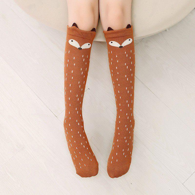 Girl Cotton Middle Tube Socks Grated Pearl Mesh Knee High Socks 2017 Hot Sale Baby Children Solid Color Socks Age 3-12