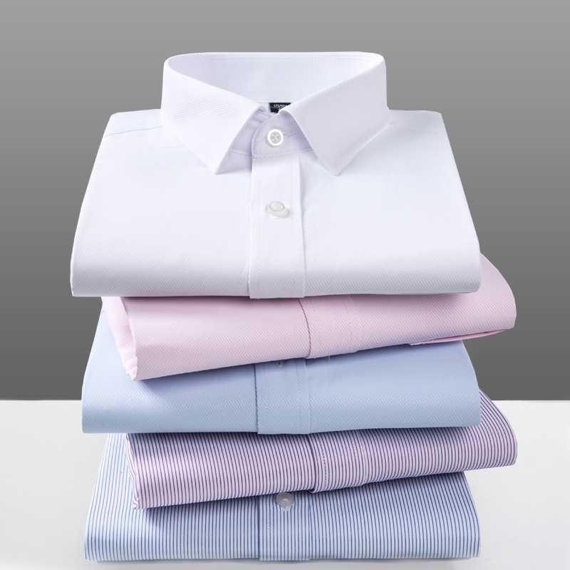 2019 Летняя мужская рубашка Длинные рукава мужской полосатый Костюмы карман Длинные рукава Slim Fit Повседневное мужской рубашки мужские рубашки