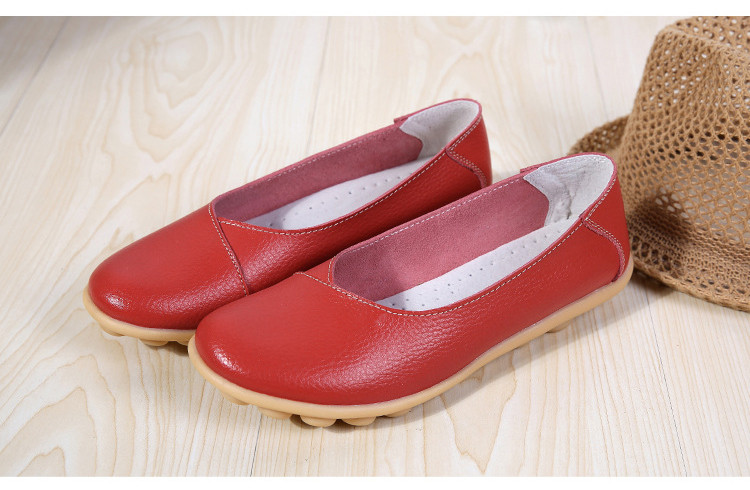 AH 5928-2019 Spring Autumn Woman Flats Casual Women Loafers-18