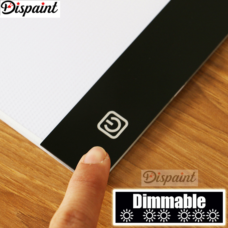 Dimmerabile-Ultrasottile-A4-HA-CONDOTTO-LA-Luce-Tablet-Pad-Applicare-per-EU-UK-AU-US-Spina (3)