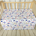 Ins crib bed linen 1pcs baby Bedding set include baby bed sheet
