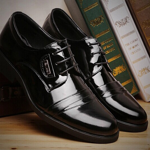 Free shipping Fashion Spring/Autumn high-quality Black Full Grain Leather men's Flats Lace-Up Business shoes for men free shipping 2017 new black brown autumn and winter full grain leather casual shoes men s fashion flats lace up shoes for men